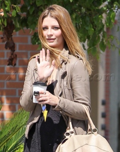EXCLUSIVE Mischa Barton puts on a happy face