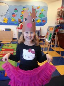 Don't forget how much fun story time @ the library can be!